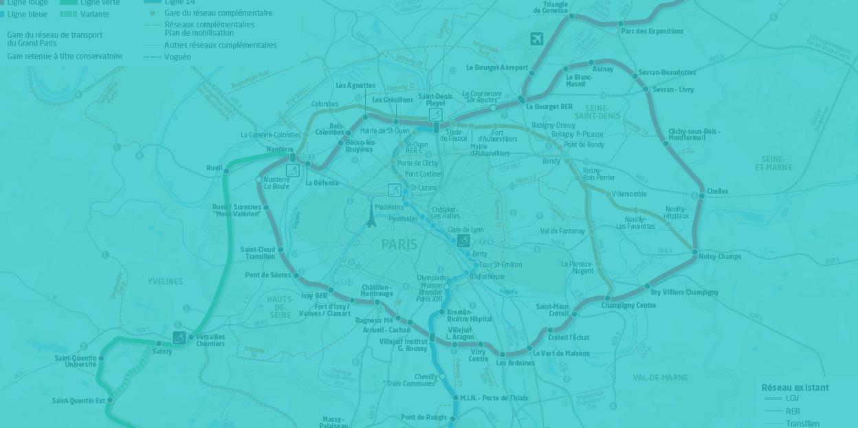 Quand le développement des transports booste les offres culturelles et touristiques au-delà du périphérique.