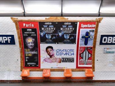 Affichage métro : quai Paris Spectacles