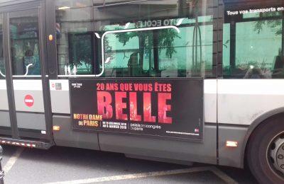 Affichage bus : flanc droit européen