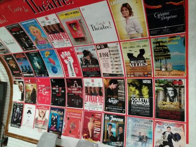 Affichage métro : Coup de théâtre 40X60