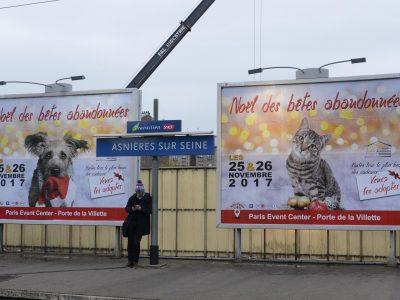 Affichage gare : quai 4X3