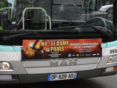 Affichage bus : Avant