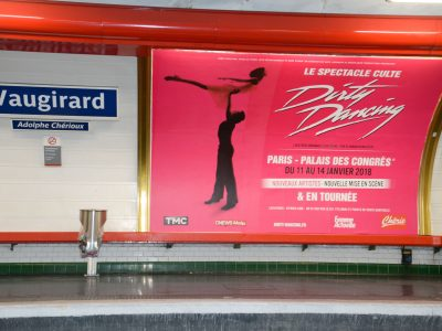 Affichage métro : quai 4X3
