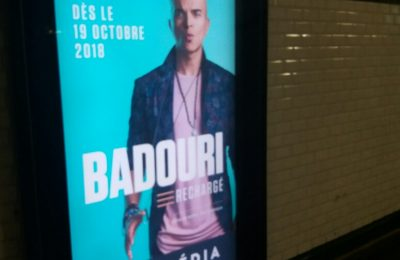 Affichage métro : couloir digital