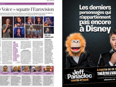Le Parisien : Pleine page
