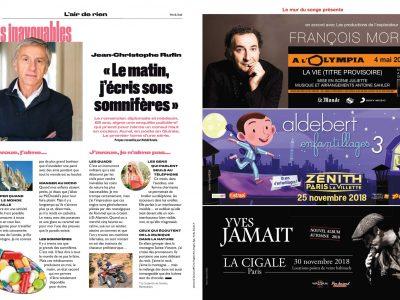Le Parisien Week-End : Pleine page