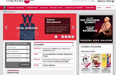 Theatreonline.com : Bannière web