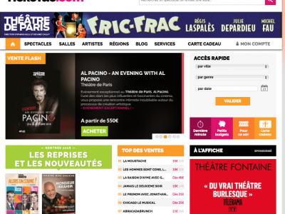 Ticketac.com : Bannière web