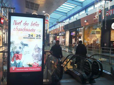 Affichage digital Centres Commerciaux