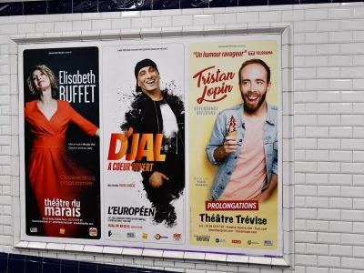 Affichage métro : couloirs 200x150