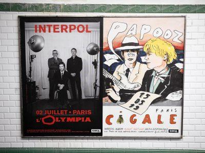 Affichage métro : couloir 200x150