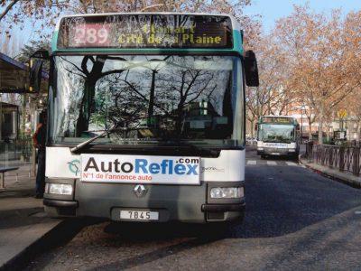 Affichage : Avant de bus