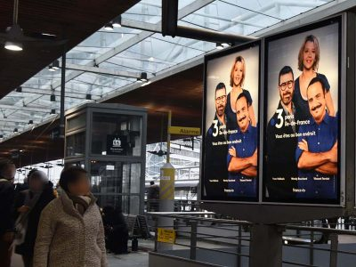Affichage : Gare SNCF